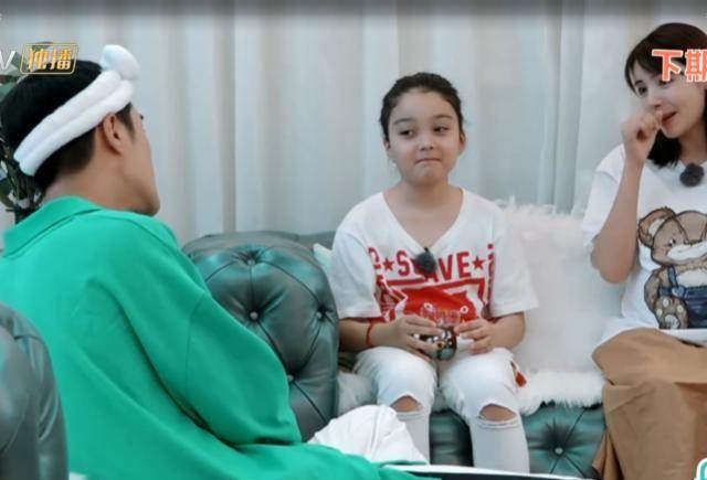 麦迪娜带外甥女录节目,当看清她正脸的那一刻,网友:跪求出道!