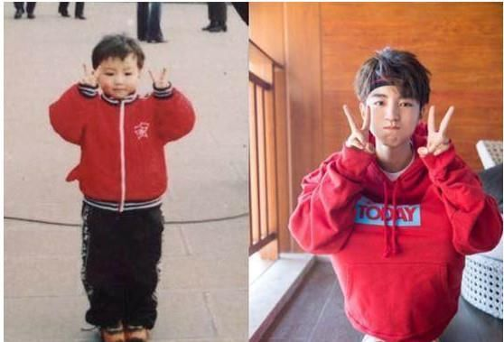 明星的童年照:王俊凯最呆萌,景甜最可爱,徐璐妹子从小