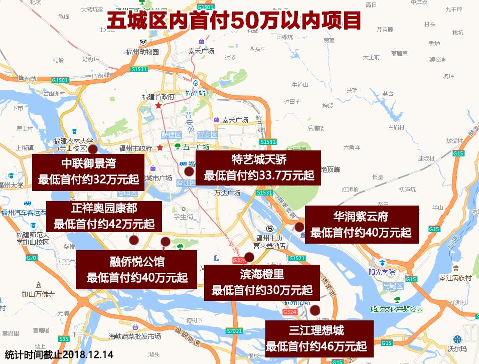 福州安居网-首付50万买福州城区住宅?最低只要23万!