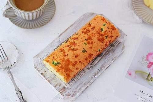 火腿肉松香葱卷的做法大理云龙诺邓蛋糕图片