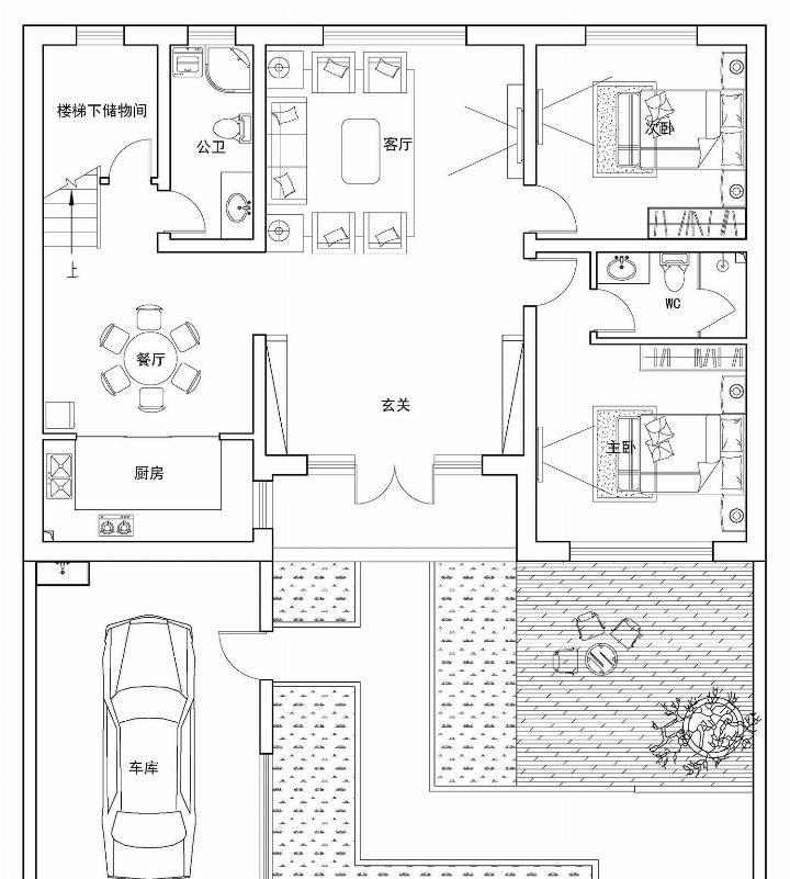 淡雅的新中式别墅,非常合理的布局,一家人享受图集改成将别墅水塔图片