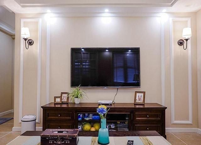 新房裝修不想裝電視墻,還可以這樣設計