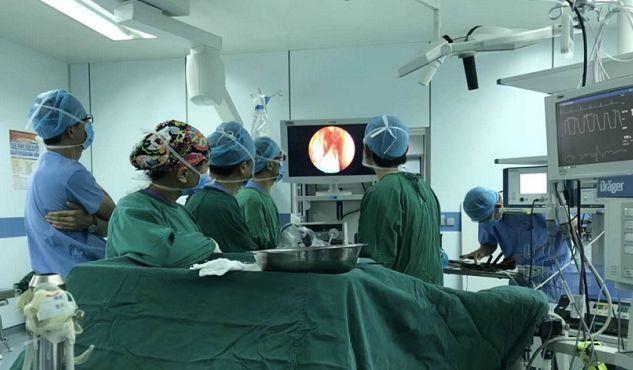 北京天坛医院普外科_简讯北京天坛医院与昆医附二院联手打造神经内镜微创技术平台