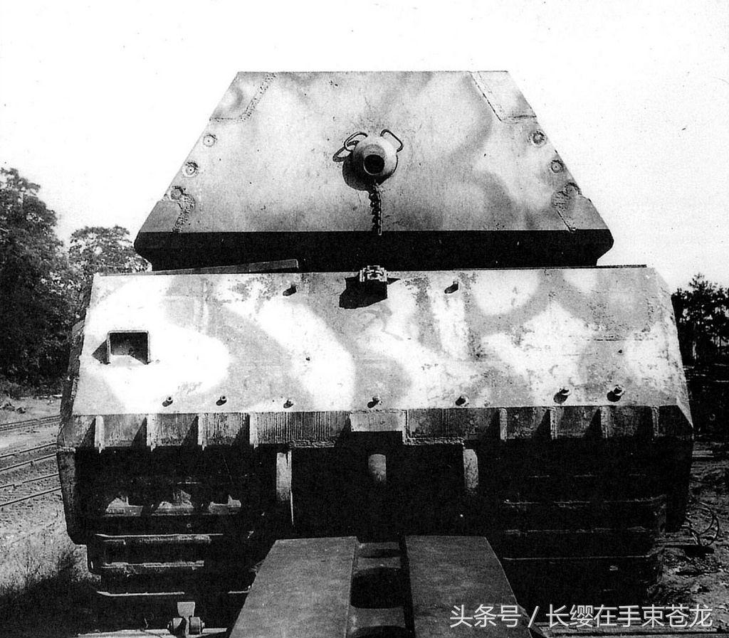 世界上最重的坦克 二战德国制造 八号坦克鼠式坦克