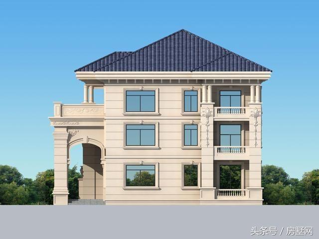 设计主体为三层欧式风格 房子结构为框架结构 规模为: 开间12.6米 进深10.6米 面积在120平左右。  小样图一览