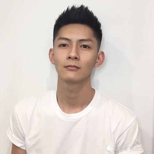 发型低于168cm空气该剪?19年时尚发型建男士发型短发发型圆脸刘海图片男生图片