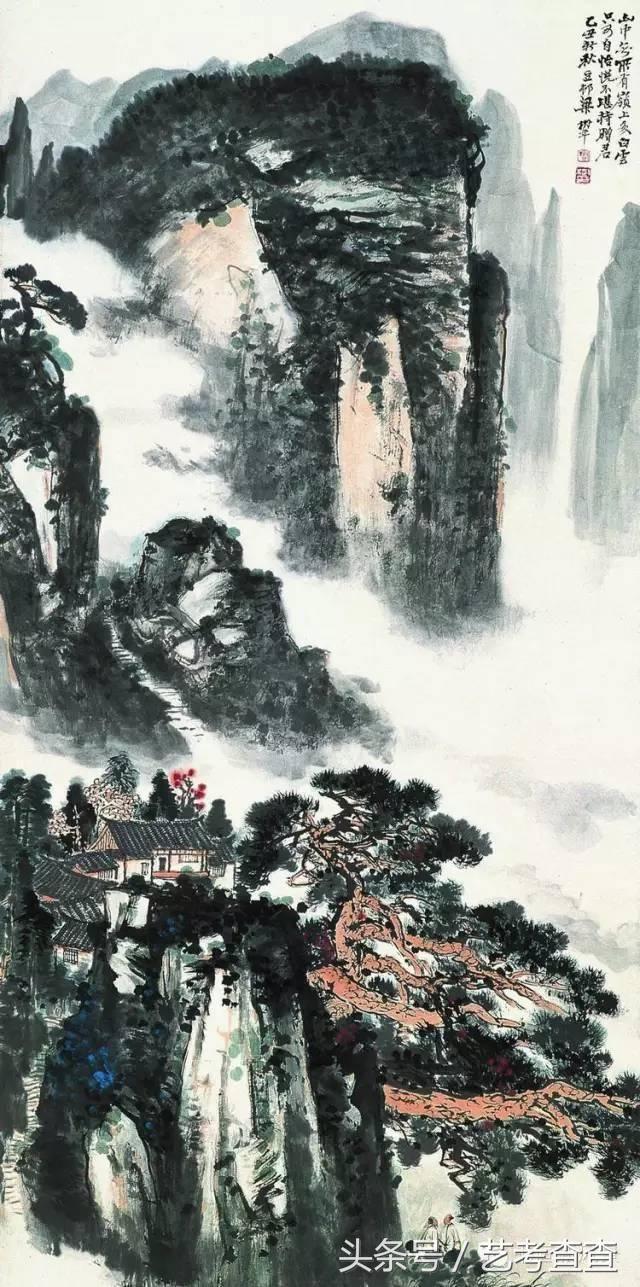 大师梁树年:我主张初学画山水要先学画树