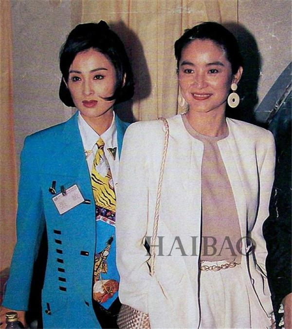 63岁林青霞与富商老公离婚了?图片