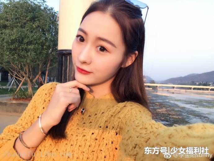 2017年华南师范大学毕业的美女校花李金阳