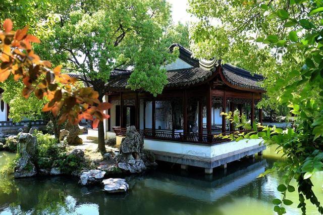 苏州十大迷人园林简直太最美,中国不愧为国家生态园林黑龙江省建筑设计大师图片