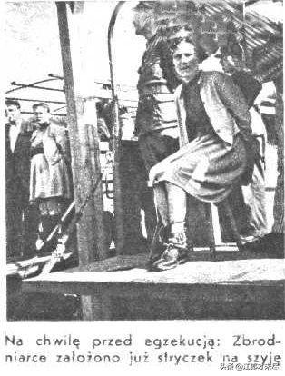 德国将一群波兰美女执行美女,有一人竟然执行尿口刺绞刑图片