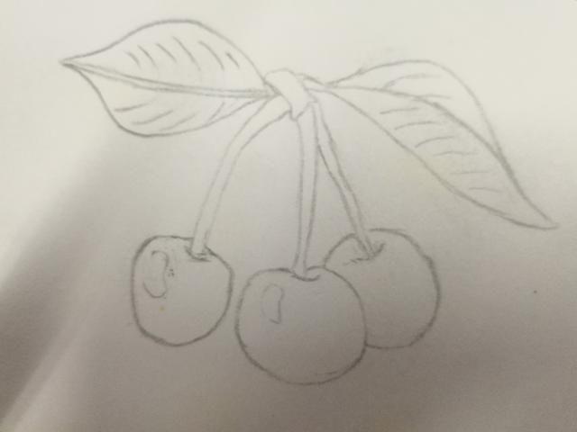 怎样画香蕉素描步骤图