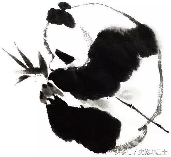 【国画文化】写意熊猫的画法步骤详解