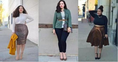 """热文:身材圆润的女人,穿衣时最好避开3种""""元素"""",这样才能穿出品位"""