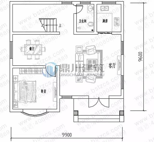 农村宅基地面宽10米建房,这6款别墅图纸农村正流行!