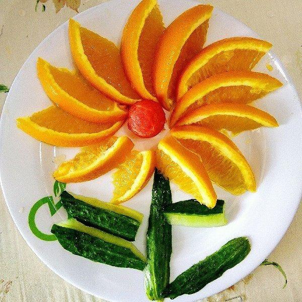 春节待客,简单易学的水果拼盘,值得收藏图片