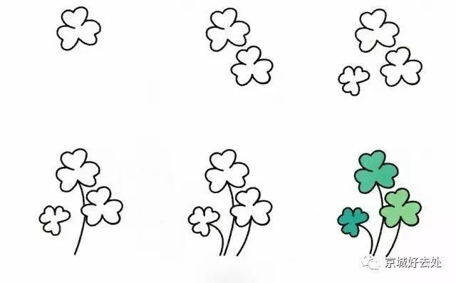 人物篇)简笔画|儿童简笔画大全(基础篇)简笔画|幼儿简笔画(植物篇)简