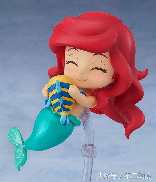 小美人鱼爱丽儿!良笑社携手迪士尼推出新款公
