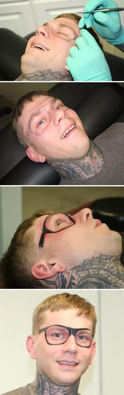 网友们纹过最丑的纹身,看着简直要哭出声……赐我后悔