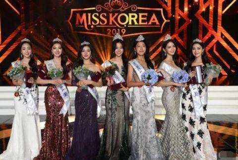 2019 年韩国小姐出炉,测试脸盲的时候又来了