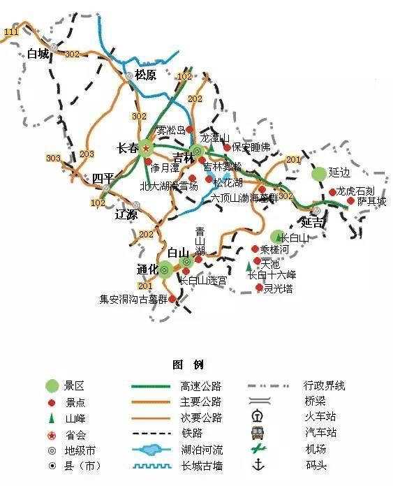 中国旅游地图精简版,放在手机里太方便了!