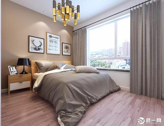 170平北欧风格装修案例 客厅沙发背景墙立体新颖图片