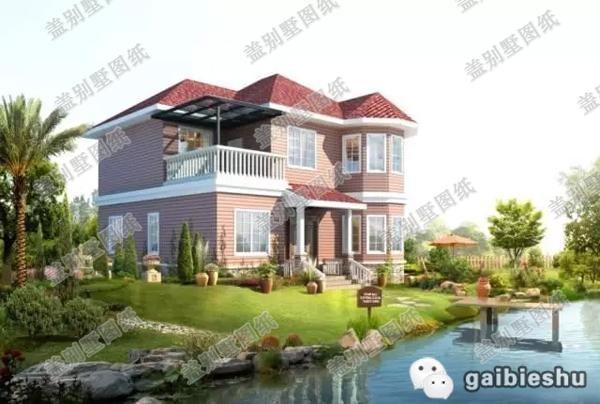 1010米25万2厅4卧农村二层房屋设计图