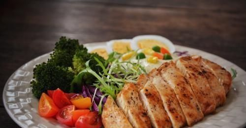 仅仅用简单的鸡胸肉,做出烧烤味的营养美食,记得按时吃饭哦