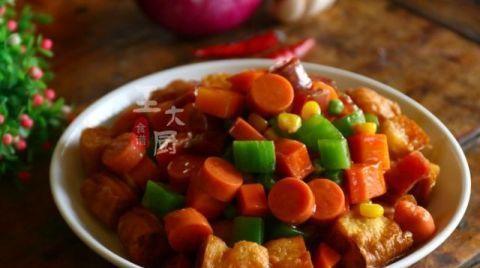 早餐换种新吃法,大厨教你一道风味八宝油条,又有主食又有菜