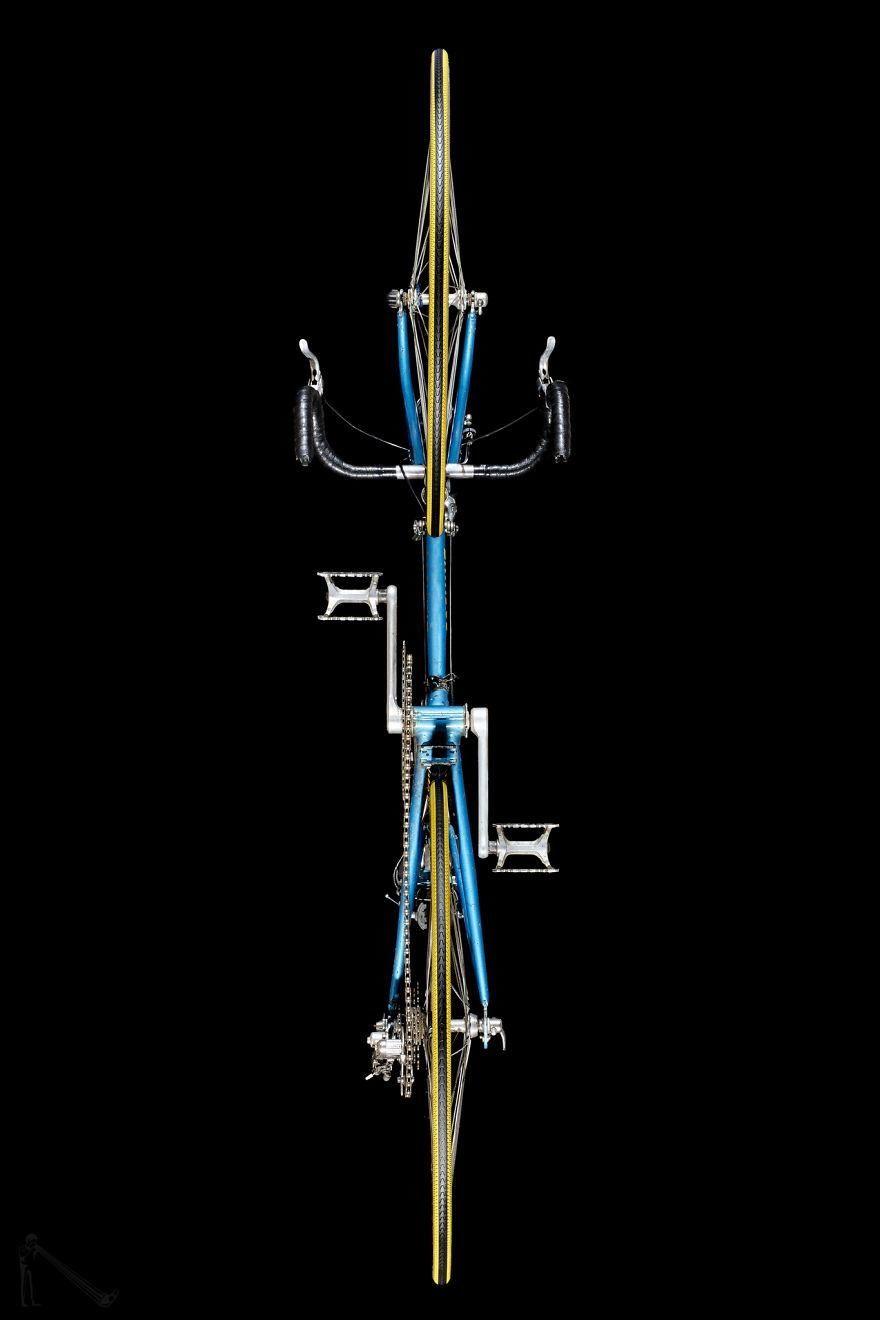 你身边那么多自行车,但这个角度的自行车你一定没见过