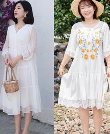 <b>体重上斤的女人想显瘦很简单试试这些连衣裙轻松藏肉瘦身</b>