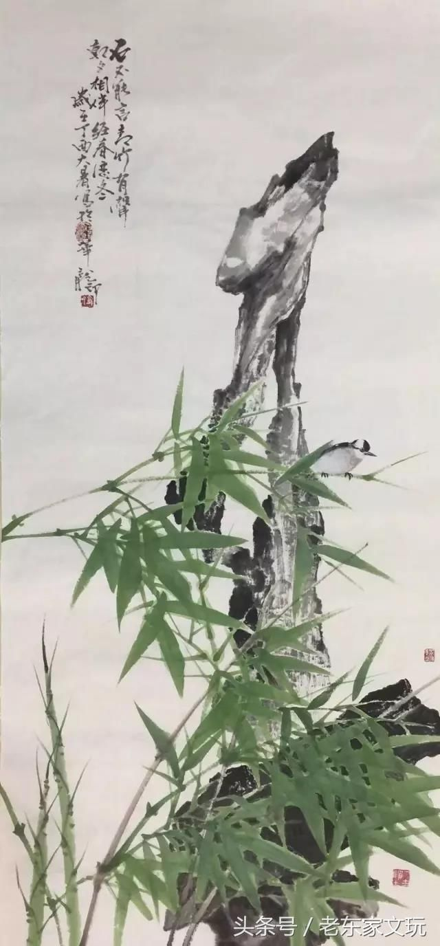 名家展示为竹造影,重塑竹魂当代著名画家张龙印老师简介图片
