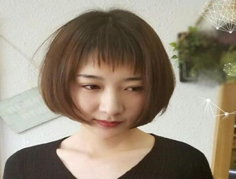 新春圆圆:瘦脸只爱发型头,减龄森林2不误,还很小短发夏秋篇女主发型图片