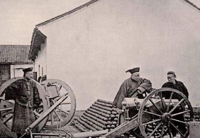 清朝入关后的军备武器购置