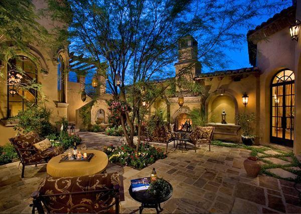 别墅庭院设计中的欧式庭院风格