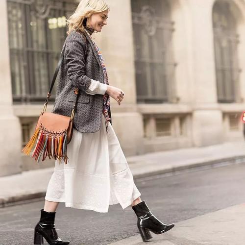 爱美女性网|单品|秋冬毛衣穿得太单调?试试这些时髦搭配方式!