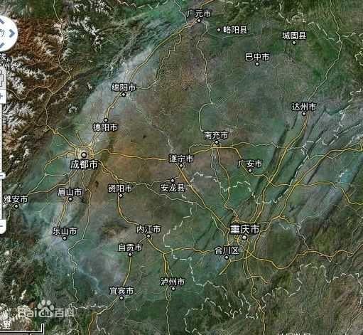 其范围包括重庆市的重庆主城区,万州,涪陵,长寿,江津,合川等29个区县图片