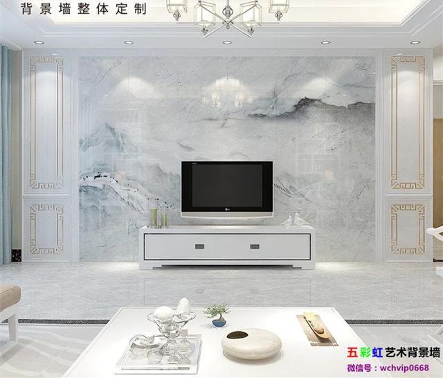 六一给孩子理想的家,现代简约高温微晶电视背景墙图片
