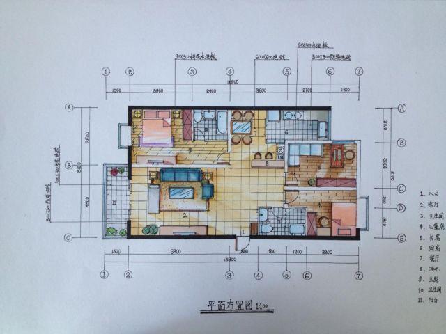 室内设计平面图构思思路