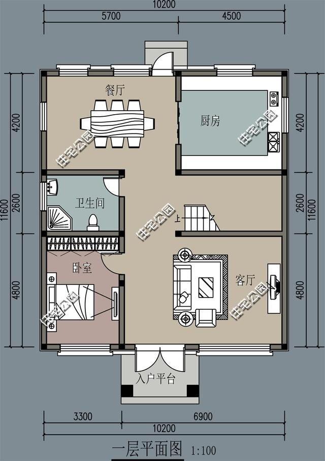 已发送求乡村一层二层三层小别墅外观效果设计平面图?