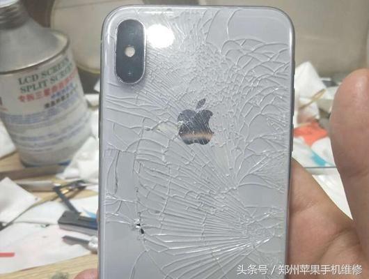 苹果8\/8p\/X换个后盖玻璃价格相当贵