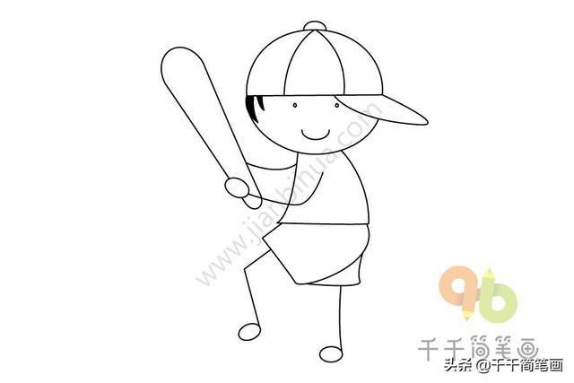 > 儿童运动简笔画图片_运动简笔画图片  儿童运动海报手绘图片展示 40