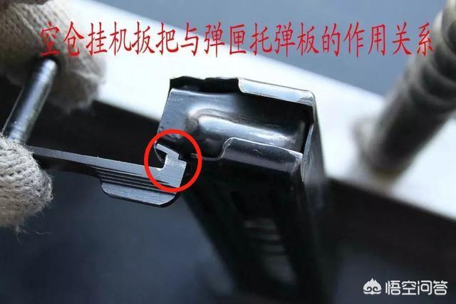 空仓挂机是怎样挂住枪机的?原理是什么?