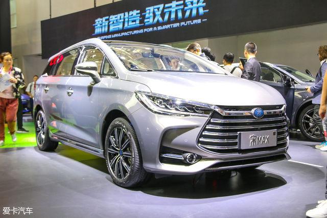 2018北京车展 比亚迪宋max静态评测图片