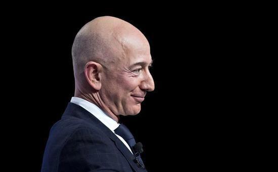 亚马逊盘后股价飙涨,贝索斯身家15分钟增132亿美元