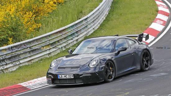 保时捷911 GT3纽北谍照曝光 或2020年亮相