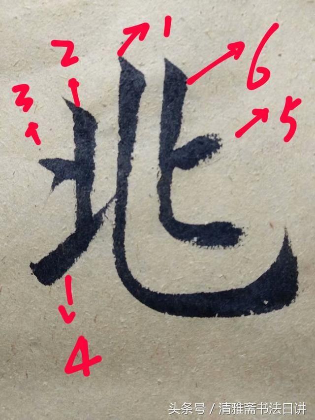 九成宫中这6个常用字的笔顺,80 的人都搞错了,看看你写对了吗