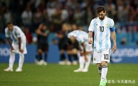 2018世界杯阿根廷0-3克罗地亚 梅西这次想拿世界杯?没