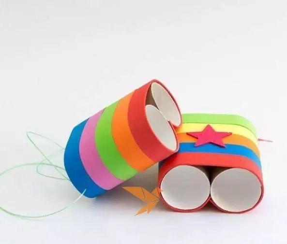 幼儿纸筒步骤图