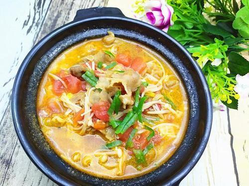 【菜谱亚麻】晚餐籽茄汁肥牛的亚麻,食道籽茄吃鹅肉做法疼图片
